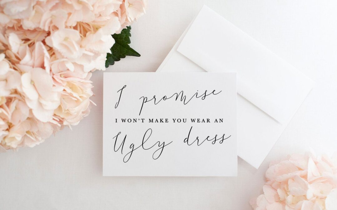 Bridesmaid Proposal Ideas 2020