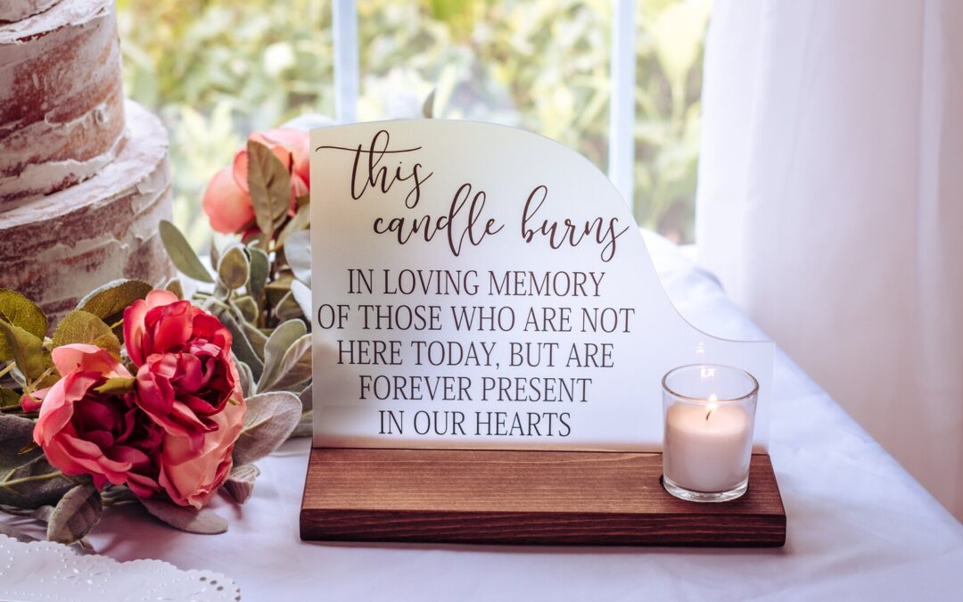 Ways to Honor Lost Loved Ones at Your Wedding